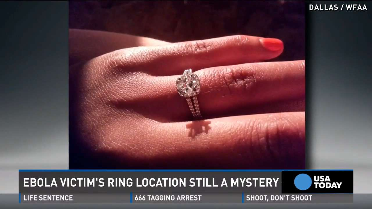 Ebola victim: What happened to my engagement ring?