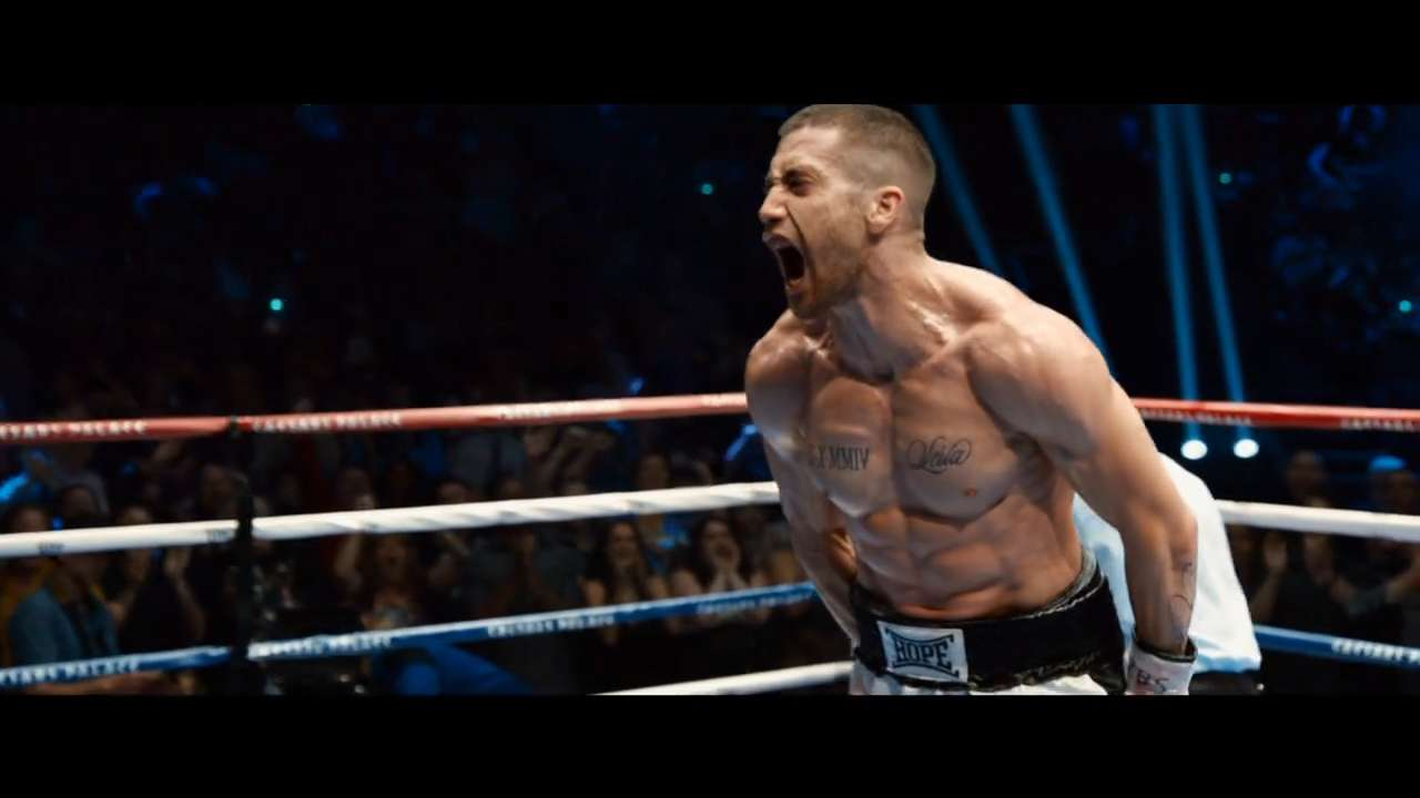 Jake Gyllenhaal plays a boxer at the top of his game, when his world comes crashing down and he has to climb back up in 'Southpaw.'