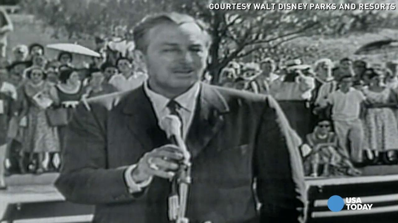 Walt Disney Welcomes You To Opening Day At Disneyland