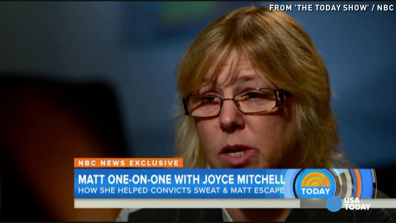 Prison seamstress Joyce Mitchell: I'm not a 'monster'