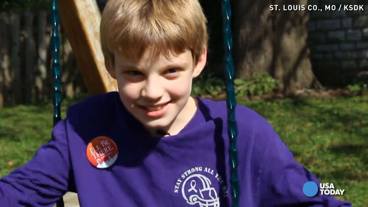 Boy with brain tumor's wish to see Pope comes true