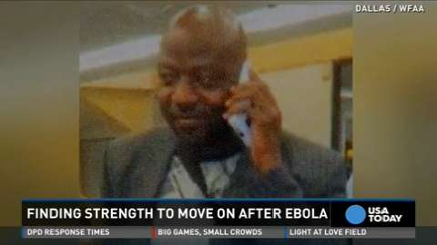 A year later, fiance of Ebola victim picking up pieces