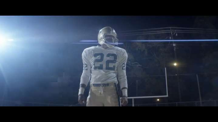 """""""Woodlawn"""" tells the true story of a gifted high school football player who battles racial tension on and off the field."""