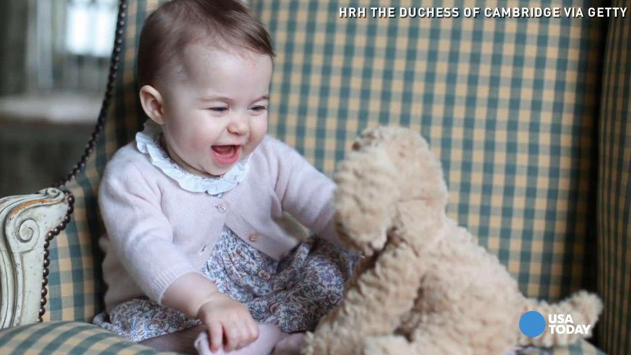 Princess Charlotte charms in new royal photos
