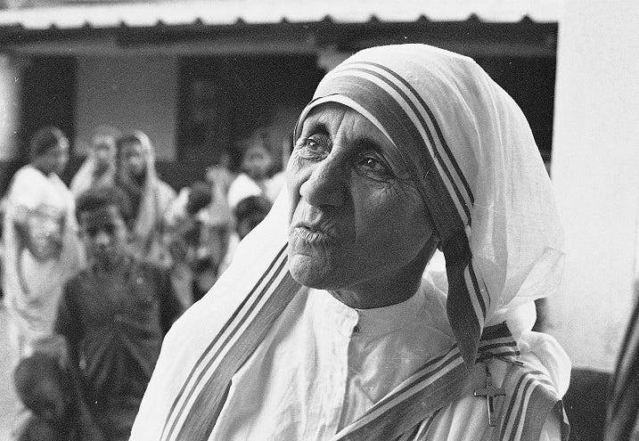 nobel lecture by mother teresa summary