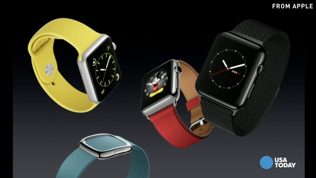 Apple Watch now starts at $299, offers variety of bands