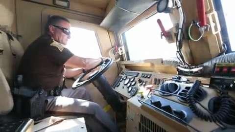 Military surplus: MRAP in Johnson County