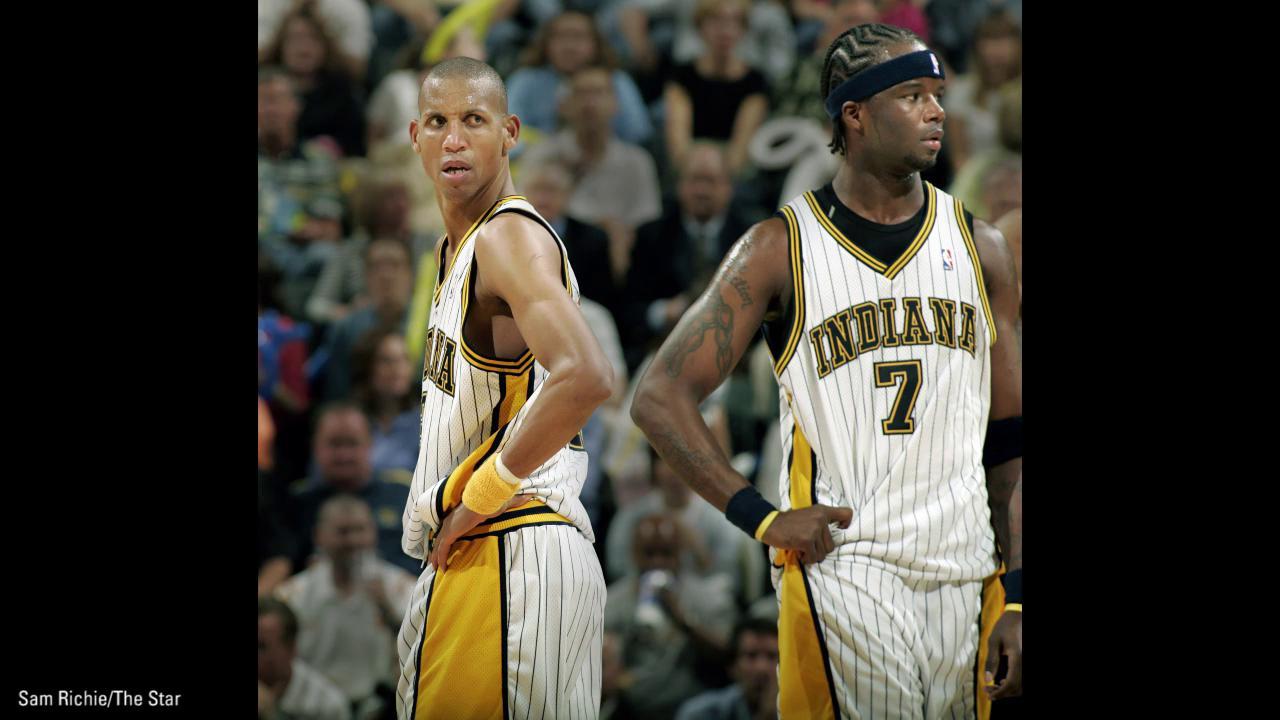 the best attitude 566dc 3b663 Pacers on wearing 'Flo-Jo' jerseys