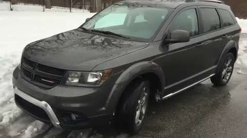 Auto Review 2015 Dodge Journey Goes Crossroad