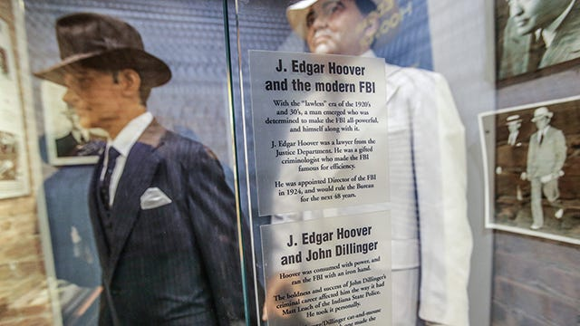 "a study of john edgar hoover and the g men Study of j edgar hoover's life reveals that he was one 8 principles j edgar hoover can teach corrections about leadership keeping his ""g-men."