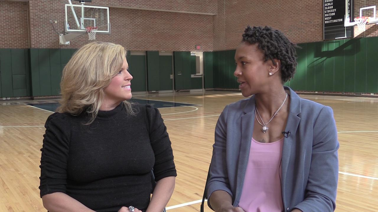 buy online c6042 b76e4 Tamika Catchings talks Kobe Bryant, youth in Italy for ESPN Films episode