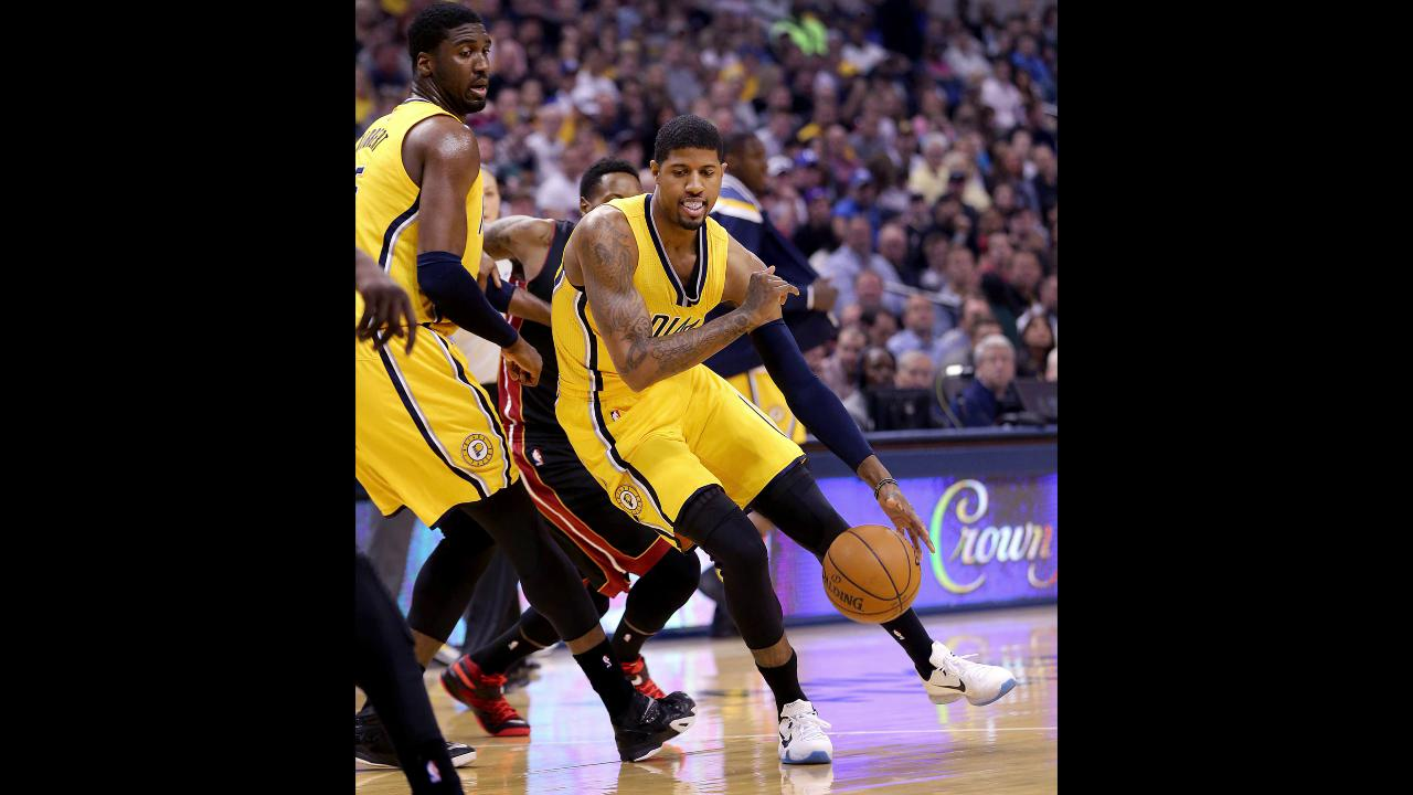 f4124293685 Larry Bird: 'I'm the one who thinks (Paul George) can play the four'