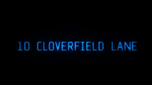 Trailer: '10 Cloverfield Lane'
