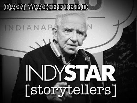Wakefield was the eighth and final storyteller at the inaugural IndyStar Storytellers event held Thursday, Feb. 11, 2016, at Indy Reads Books, 911 Massachusetts Ave., Indianapolis.