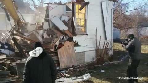 Surprising Demon House In Gary Demolished Download Free Architecture Designs Scobabritishbridgeorg