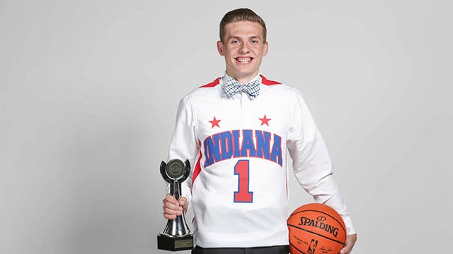 Kyle Guy awarded Mr Basketball
