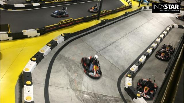 Go Karts Indianapolis >> Sarah Fisher S Kart Track Restaurant Opens In Speedway