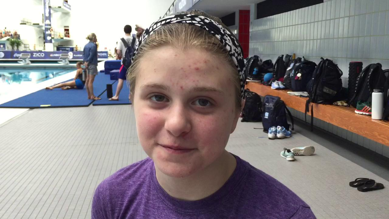 13-year-old Texan aims for Rio