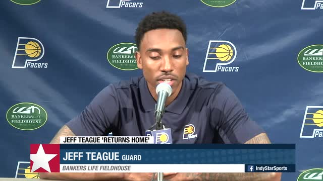 2d676f8f1 Insider  Jeff Teague embraces his dream with Pacers