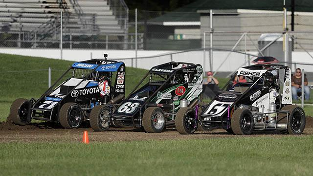 Tony Stewart loves driving on IMS dirt track