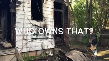 Fire fighter owns vacant home that caught on fire