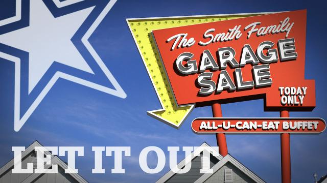 Let It Out: garage sale permanence, WWJD, campaign ads and more