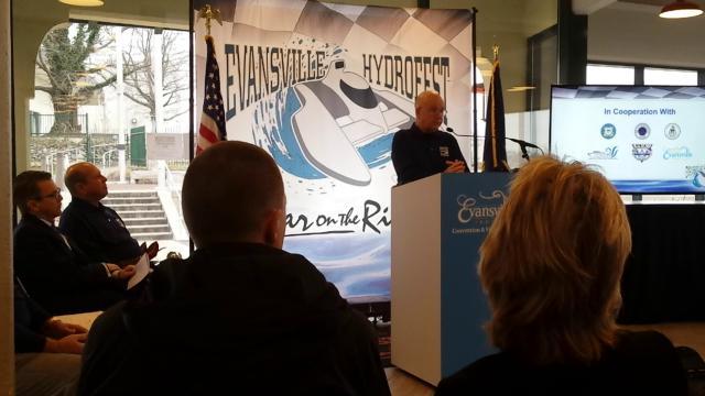 Evansville HydroFest Press Conference