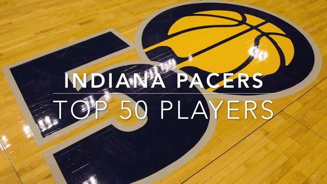 Top 50 Indiana Pacers in their 50 seasons
