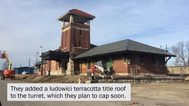 Architectural Renovators of Evansville, IN has nearly completed the city required work on the Union Station Train Depot.