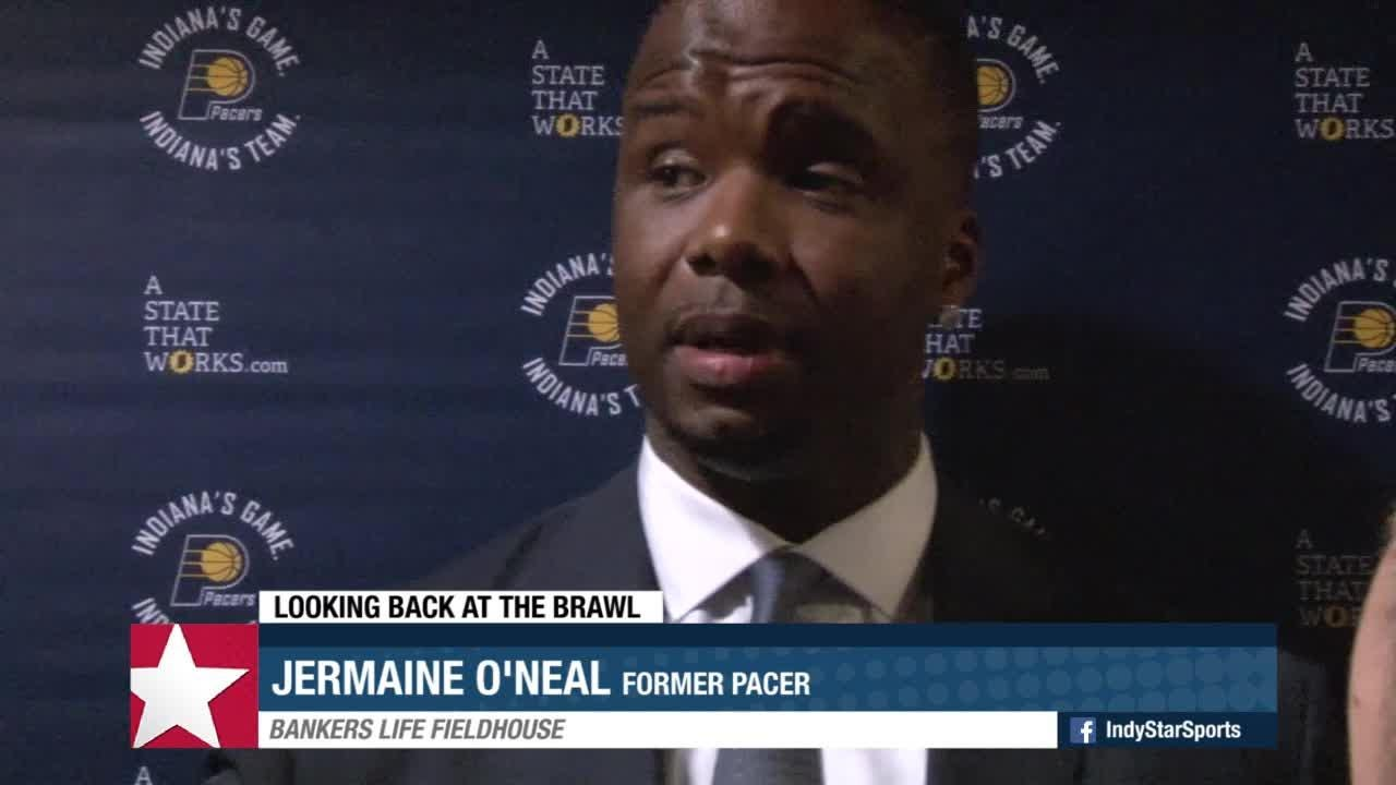 Jermaine O Neal looks back at the brawl