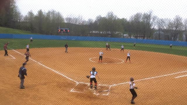 Webster County's Kerstin Braden hit a bases-loaded single to break a scoreless tie in the fourth inning of her team's 3-1 win over Union County on Tuesday at Bill Duncan Field in Morganfield.