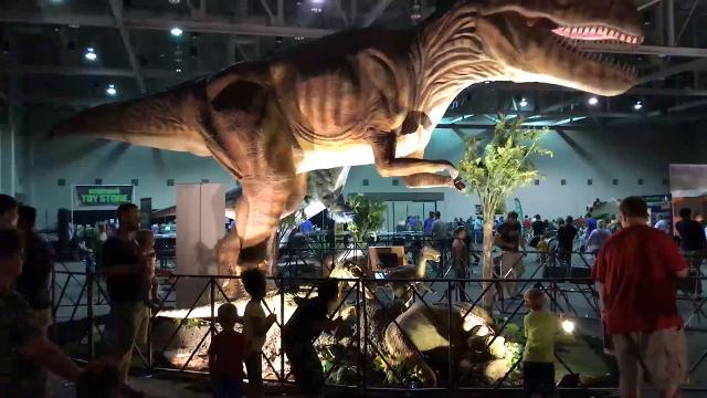 Sights & Sounds: Jurassic Quest at ONEP May 26, 2017