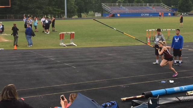Highlights from Henderson County's performance in the 3-A Regional track meet on May 12 at Marshall County High School