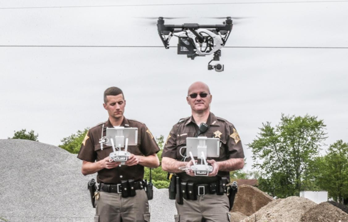 How 2 Indiana deputies used a drone to catch a suspect