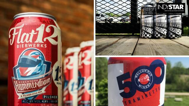 Race-themed beers (and wine) for the Indy 500