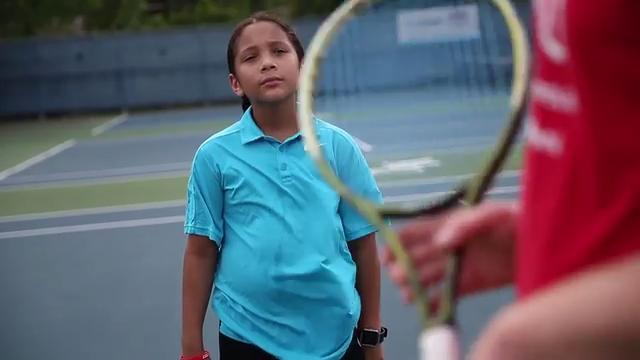 We could all learn something from this young tennis player
