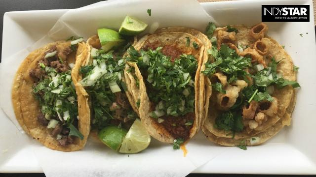 Authentic tacos in Indianapolis