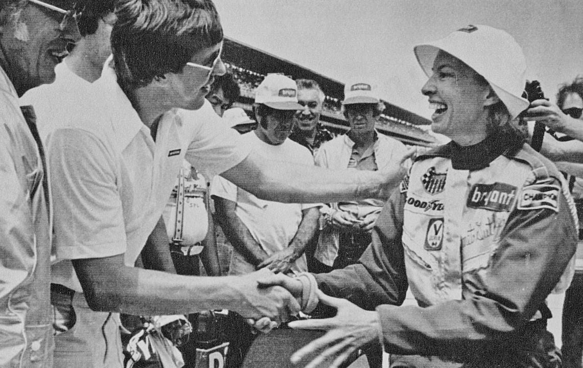 Janet Guthrie 11th at Indianapolis 500 Janet Guthrie 11th at Indianapolis 500 new images