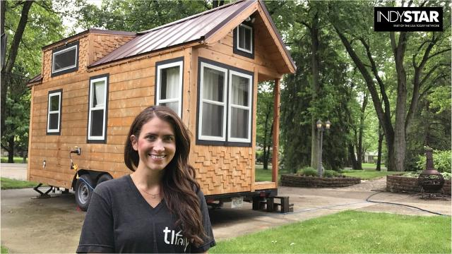 Try a tiny house near the Indy 500