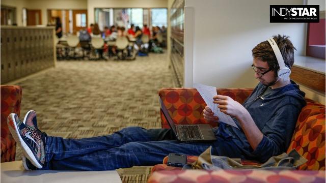Peek inside Fishers High School's college-like wing