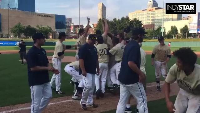 Highlights Cathedral S Evan Uhland Hits Solo HR To Secure 4A Title