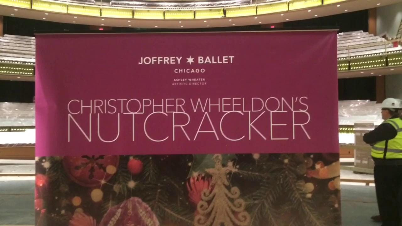 "The University of Iowa and Hancher Auditorium offered a sneak peek to Hancher's new home, and a new production of ""The Nutcracker"" that Hancher will present with Joffrey Ballet."