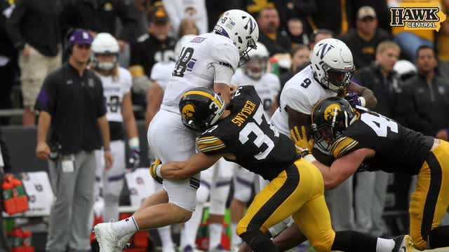 Iowa vs Northwestern highlights