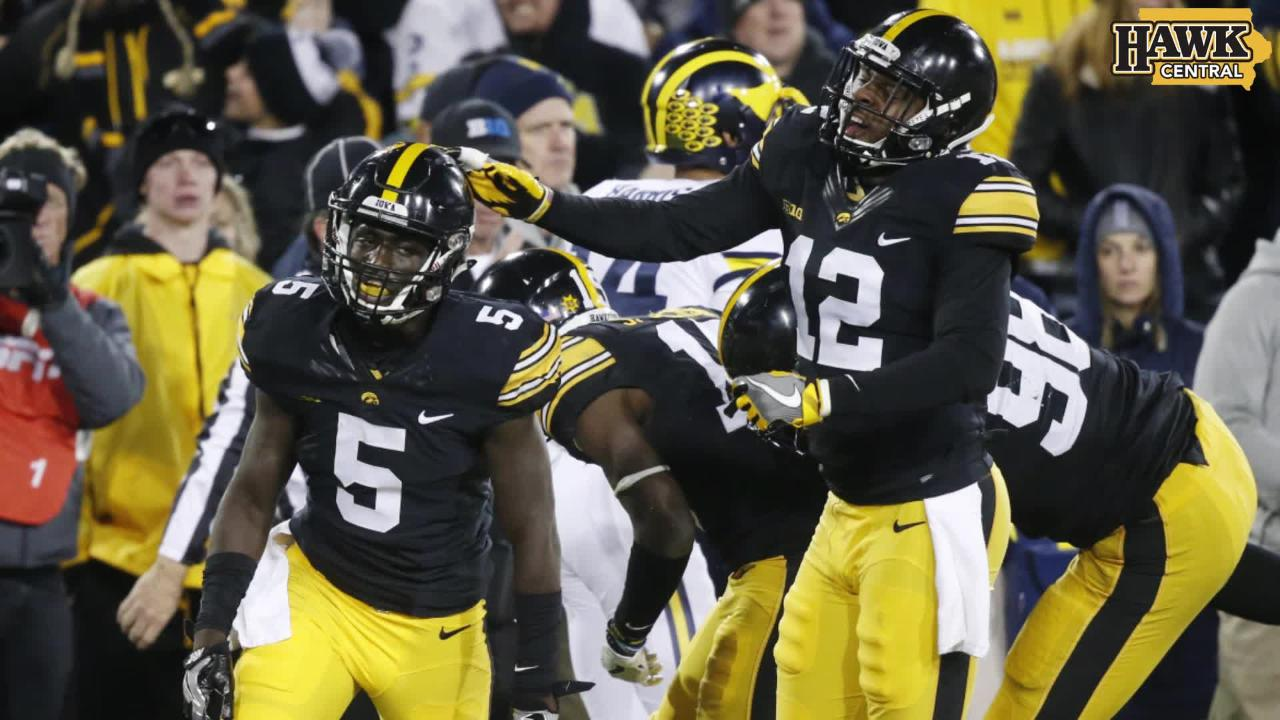 Iowa vs. Michigan highlights