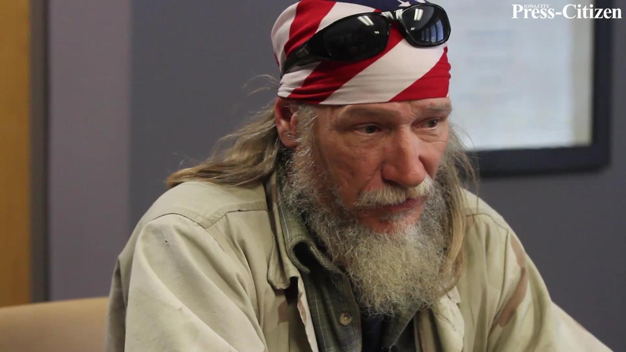 Iowa Citys Homeless Face The Cold Keep Going