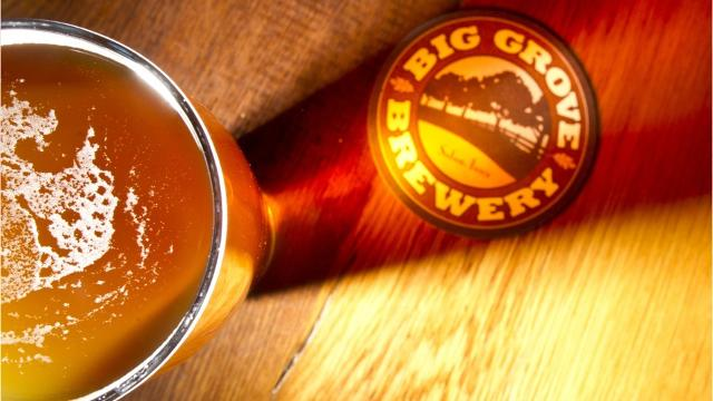 Wednesday marked the opening of Big Grove Brewery and Taproom Iowa City, a massive new venue for food, beer and more.