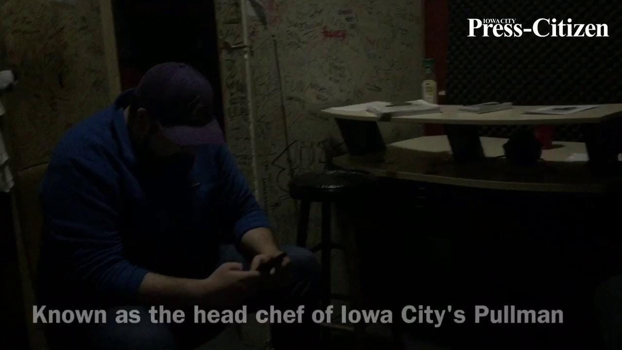 The head chef at one of Iowa City's most popular restaurants, Pullman Bar & Diner, is about to release his first rap album.