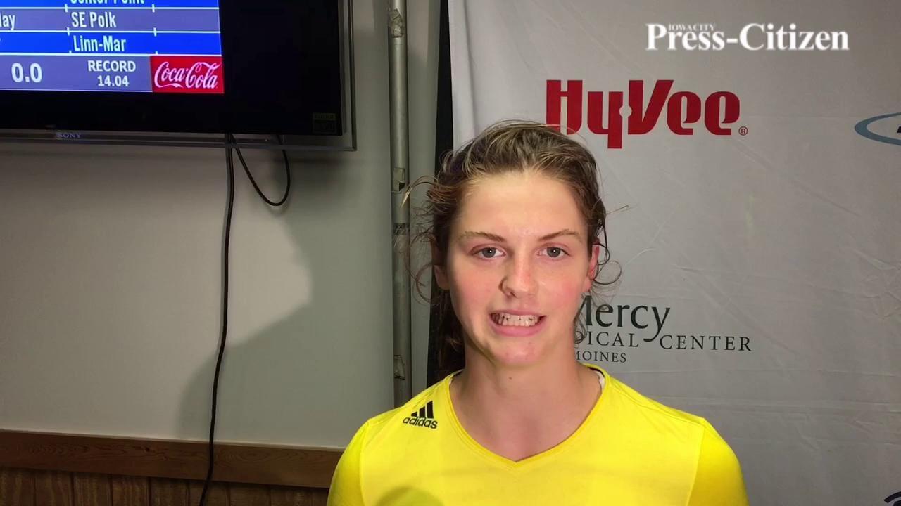 I.C. West's Valerie Welch talks winning 100-meter hurdles at Drake Relays