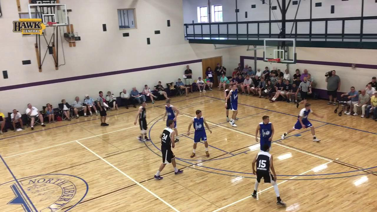 Jack Nunge flashes post moves, ability to run the floor in PTL debut