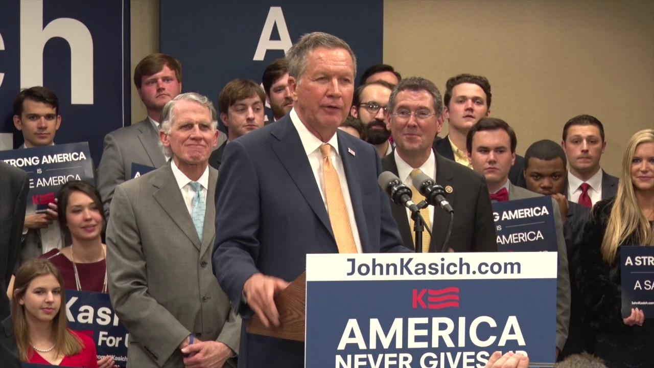 Kasich Reacts to Early Super Tuesday Returns